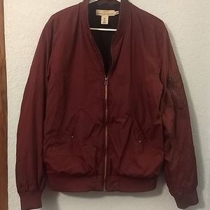 Other - H&M dark red bomber